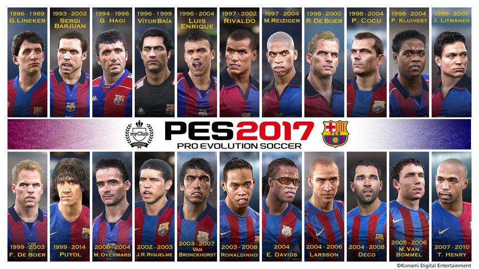 legends do barcelona