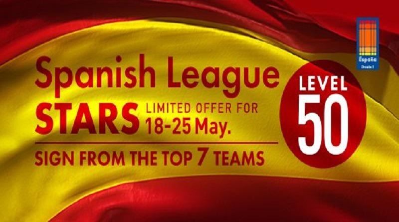 Atualização semanal #35 – Estrelas da liga espanhola (Lv.50)