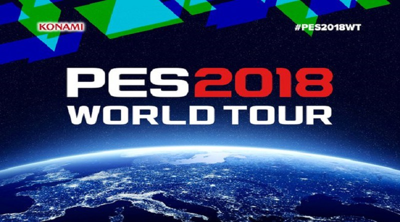 World Tour PES 2018 – Novos Gameplays e presença de Kluivert e Mendieta