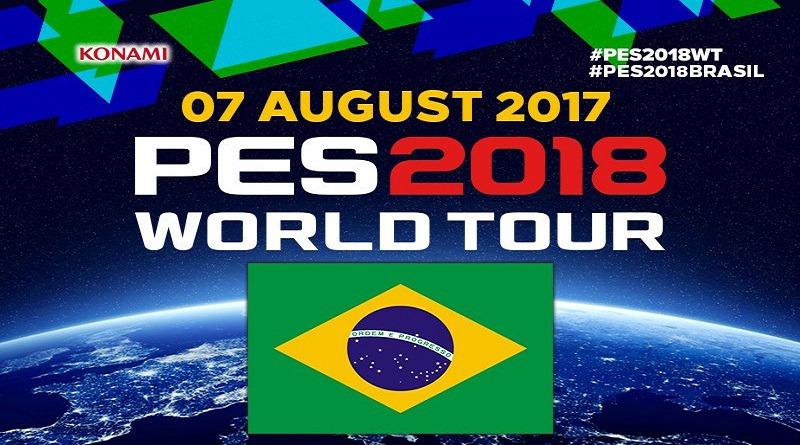 World Tour PES 2018 – BRASIL – Capa, Legends, Licenças e mais