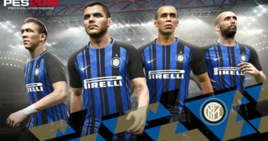 Inter de Milão é o mais novo parceiro da Konami e mais 3 Legends