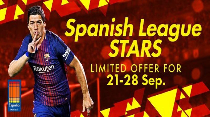 PES 2018 – Atualização semanal #2 – Spanish League Stars