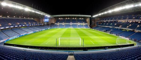 Ibrox Stadium - Imagem real