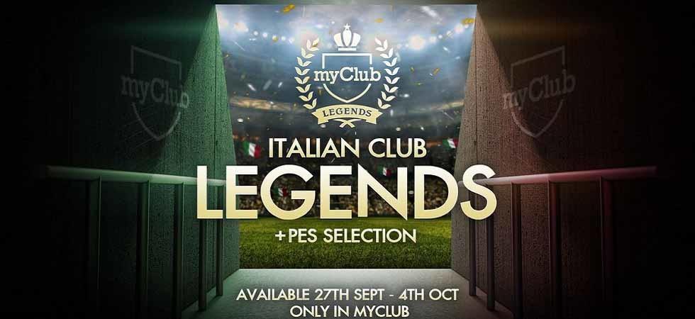 PES 2019 - Legends Clubes italianos