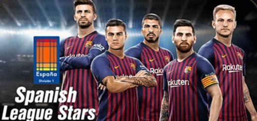 b3352fa8d6 PES 2019 – Atualização semanal 6-9 – Spanish League Stars