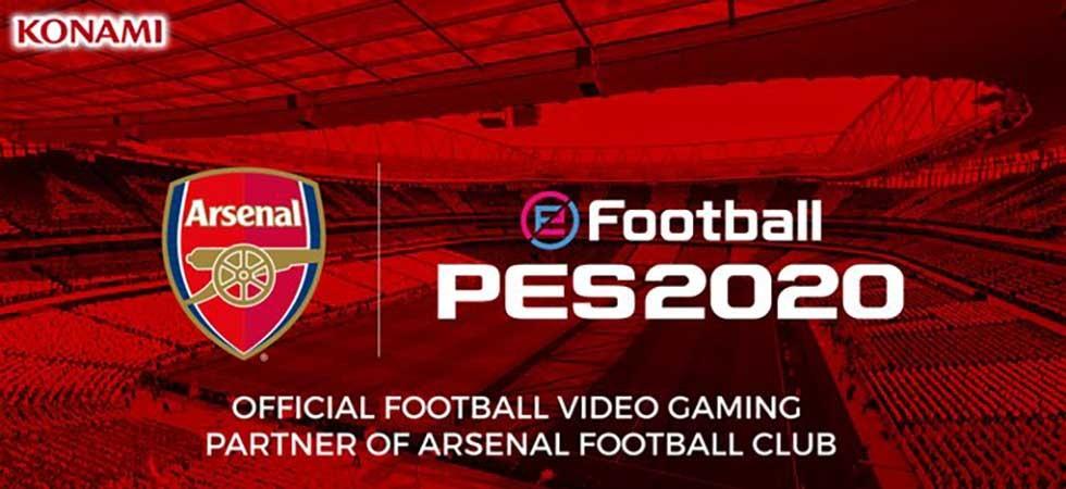 Arsenal pareceria PES 2020