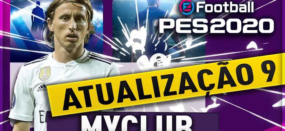 Atualização myClub PES 2020 - 10-10