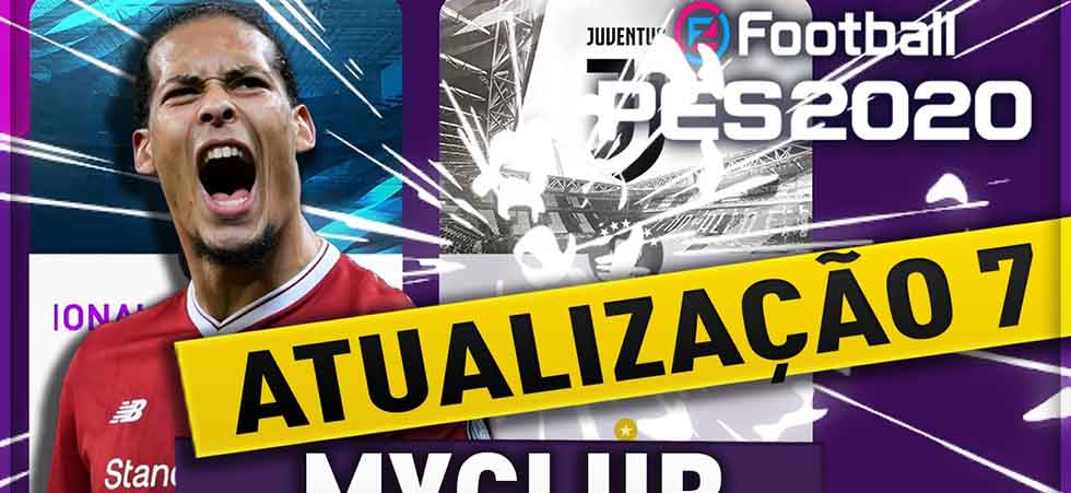 Atualização ao vivo 7 - myclub PES 2020