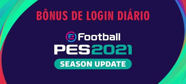 PES 2021 - bonus login diário - 4-10