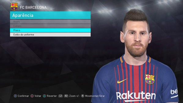 Messi - dlc 3.0 - pes 2018