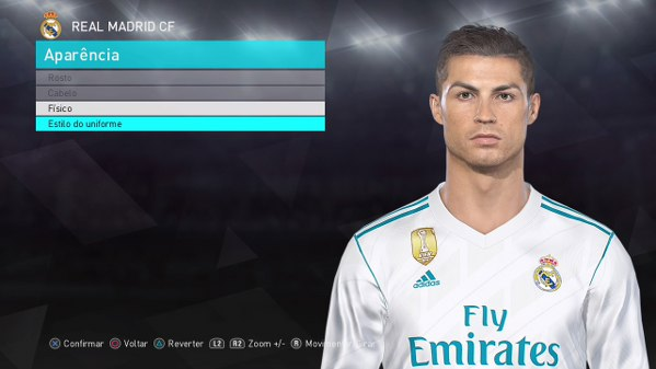 Cristiano Ronaldo - dlc 3.0 - PES 2018 - 1